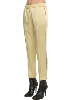 Haider Ackermann Elastic Straight Leg Pants