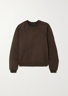 Haider Ackermann Embroidered Cotton-jersey Sweatshirt