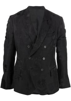 Haider Ackermann floral-embroidered blazer