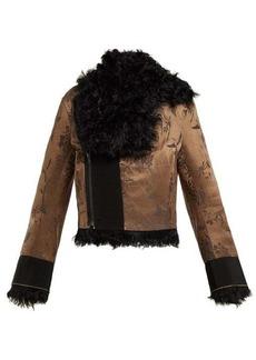 Haider Ackermann Carduus shearling jacket