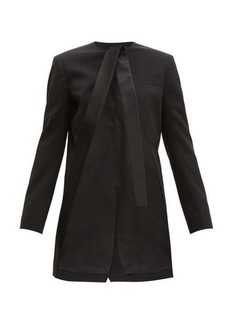 Haider Ackermann Open-front wool-blend jacket