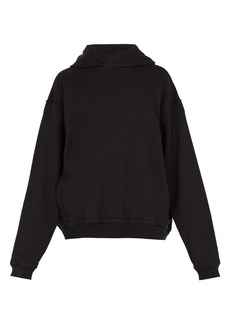 Haider Ackermann Somewhere cotton-blend hooded tracktop