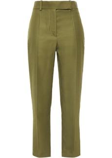 Haider Ackermann Woman Twill Straight-leg Pants Army Green