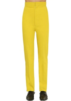 Haider Ackermann High Waist Dover Cotton Trousers