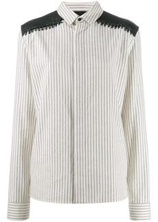 Haider Ackermann long sleeve striped shirt