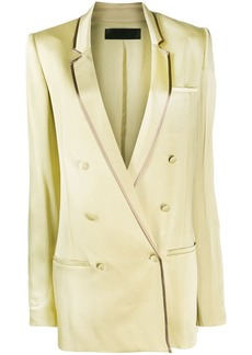 Haider Ackermann oversized double-breasted blazer