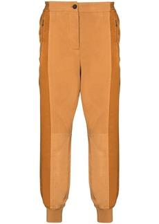 Haider Ackermann panelled track pants