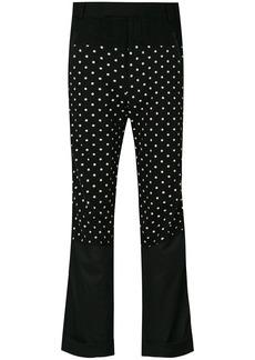 Haider Ackermann polka dot trousers