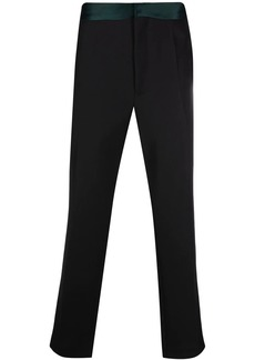 Haider Ackermann pressed-crease tailored trousers