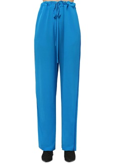 Haider Ackermann Silk Crepe Pants