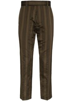 Haider Ackermann striped tailored trousers