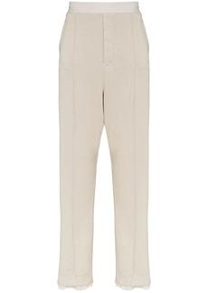 Haider Ackermann tailored cotton sweatpants
