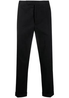 Haider Ackermann tailored cropped trousers