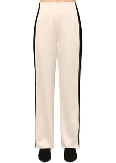 Haider Ackermann Viscose Pants W/ Side Bands