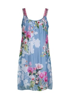 Hale Bob Floral Sleeveless Shift Dress