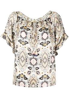 Hale Bob geometric print blouse