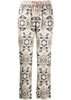 Hale Bob geometric print trousers