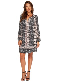 Hale Bob Good Vibrations Matte Microfiber Jersey Dress