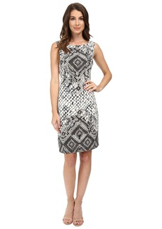 Hale Bob Animal Intuition Dress with Strappy Detail At Back
