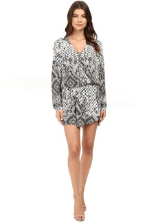 Hale Bob Animal Intuition Dress with Tie