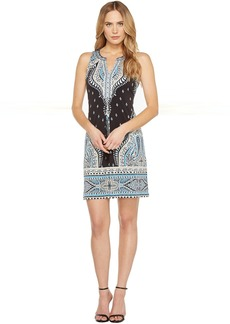 Hale Bob Catch Heath Microfiber Sleeveless Dress