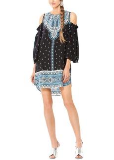 Hale Bob Cold-Shoulder Dress