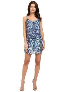Hale Bob Devil's Advocate Halter Style Silk Dress