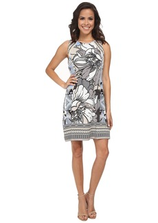Hale Bob Flower Fantasy Sleeveless Dress