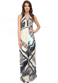 Hale Bob Foral Disruption Maxi Dress