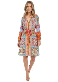Hale Bob From Russia w/ Love 3/4 Sleeve Dress