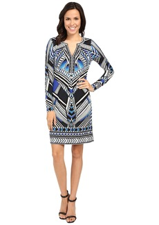 Hale Bob Graphic Impact Jersey Dress