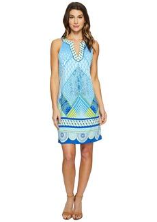 Hale Bob Graphic Jungle Microfiber Jersey Sleeveless Dress