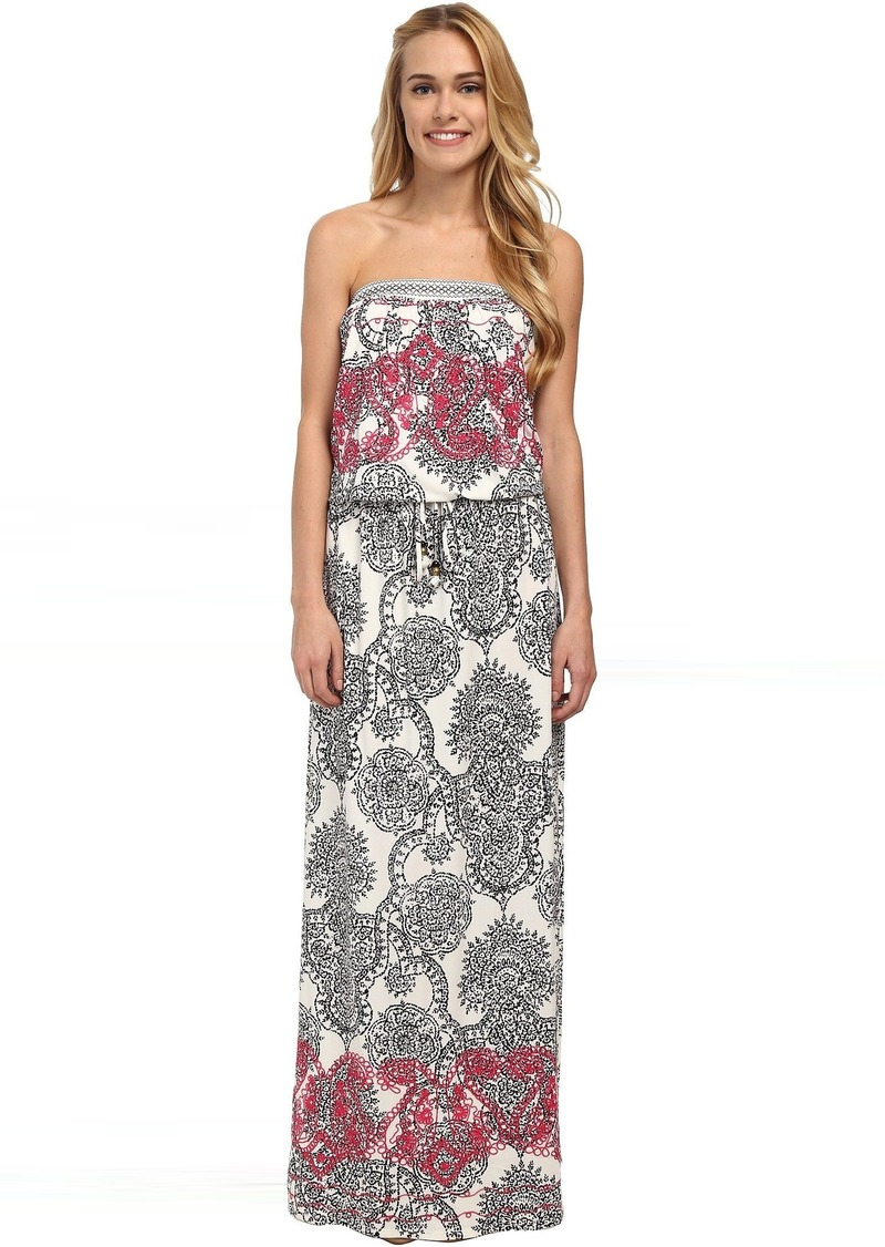 12310cfacfd Hale Bob Hale Bob Haute Boheme Tube Top Maxi Dress