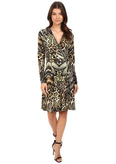 Hale Bob Jungle Book Wrap Dress