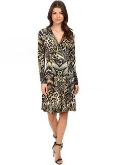 Hale Bob Jungle Book Wrap Dress