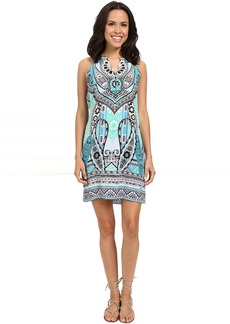Hale Bob Life's a Beach Dress with Button Detail