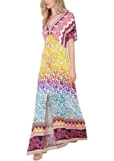 Hale Bob Marai Kimono Maxi Dress