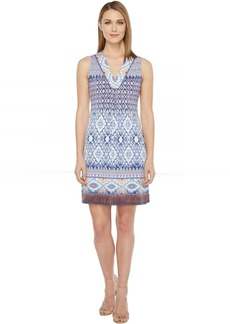 Hale Bob Permanent Vacation Microfiber Jersey Sleeveless Dress