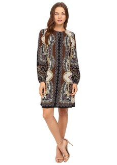 Hale Bob Points of Paisley Dress