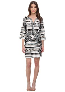Hale Bob Psychadelic Summer Shirt Dress