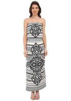 Hale Bob Psychadelic Summer Tube Top Dress