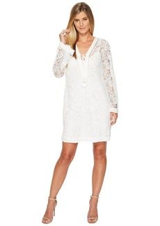 Hale Bob Queen Bee Butterfly Lace with Slip Dress