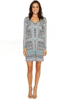 Hale Bob Ripple Effect Microfiber Dress