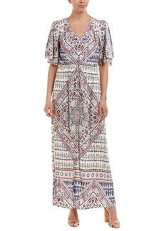 Hale Bob Slit Sleeve Maxi Dress