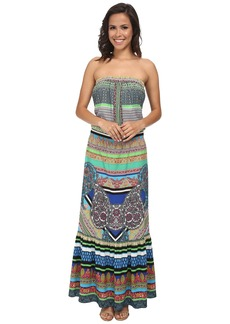 Hale Bob Soft In The City Tube Top Maxi Dress