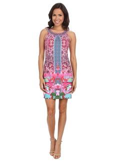 Hale Bob South Beach Blooms Sleeveless Dress