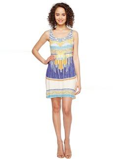 Hale Bob Summer Spirit Rayon/Spandex Knit Tank Dress
