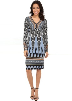 Hale Bob Survival Instinct V-Neck Dress