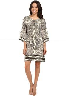 Hale Bob Take Your Pick 3/4 Sleeve Dress