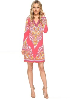 Hale Bob The Sweetspot Matt Microfiber Jersey Dress with Beads